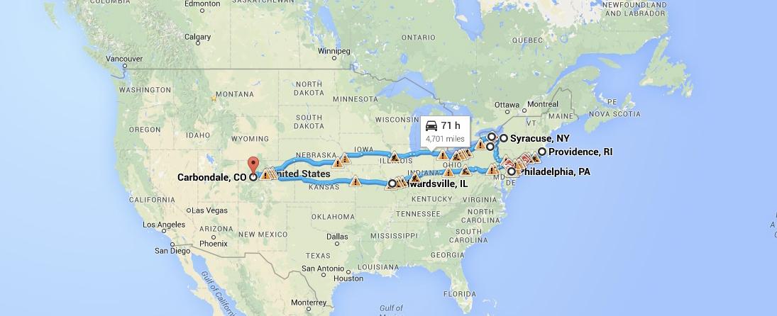 ArtStream Map