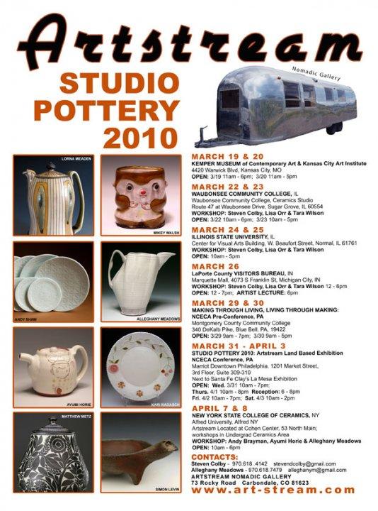 Artstream 2010 back